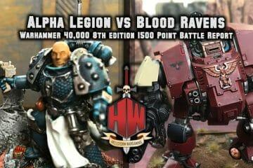 Alpha Legion vs Blood Ravens Thumbnail