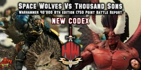 Space Wolves vs thousand sons