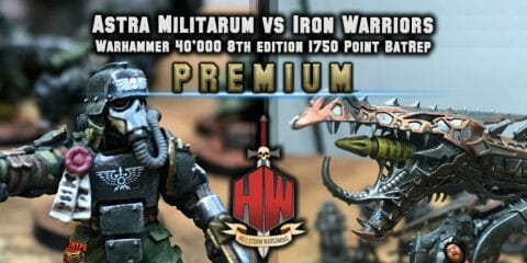 Premium Astra vs Iron Warriors