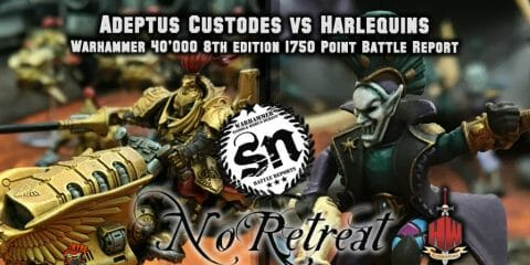 Custodes vs Harlequins NR