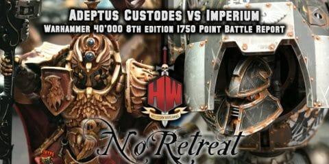 Custodes vs Imperium NR
