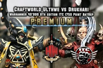 Premium Craftworld vs Drukhari