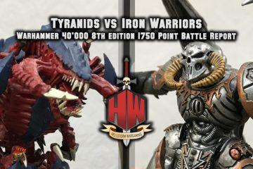 Tyranids vs Iron Warriors