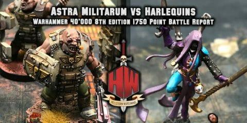 Astra Militarum vs Harlequins
