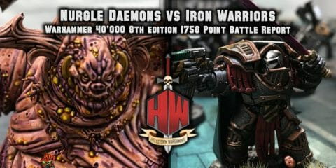 Nurgle vs Iron Warriors