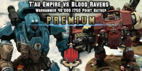 Tau vs Space Marines