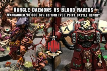 Daemons vs Blood Ravens