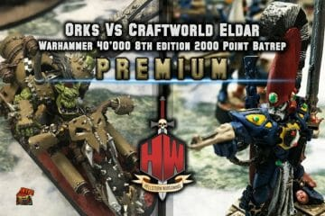 Orks vs Craftworld Eldar