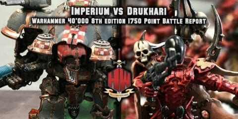 Knights vs Drukhari