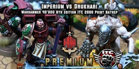 Imperium vs Drukhari ITC